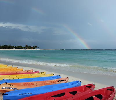 Rainbows of Caribbean