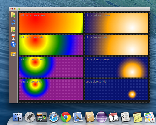 Sciter on Mac screenshot